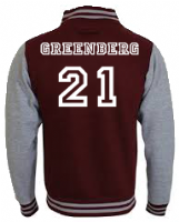 BEACON HILLS LACROSSE GREENBERG VARSITY - INSPIRED BY TEEN WOLF